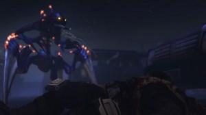 XCOM: EU - Alien kills a man