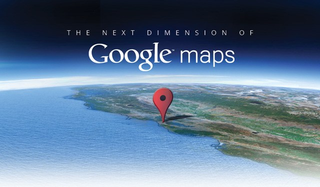 Google Maps Next Dimension invite