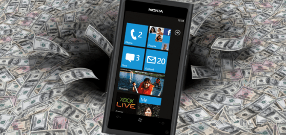 windows phone apps money