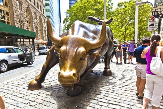 bull wall street