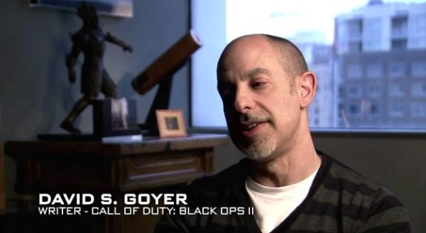 David S. Goyer --  Call of Duty: Black Ops II