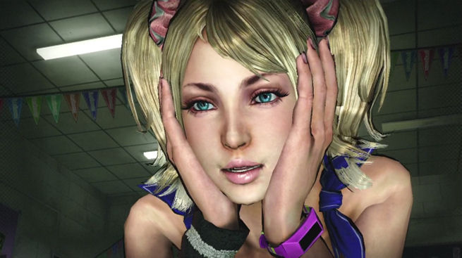 Juliet Starling as she appears in Lollipop Chainsaw