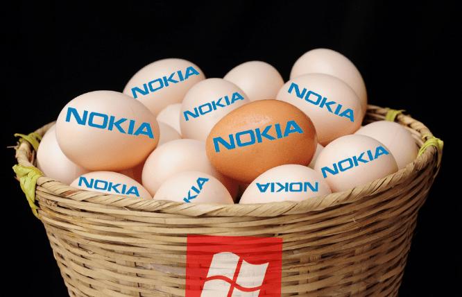 Nokia's eggs in Microsoft's basket
