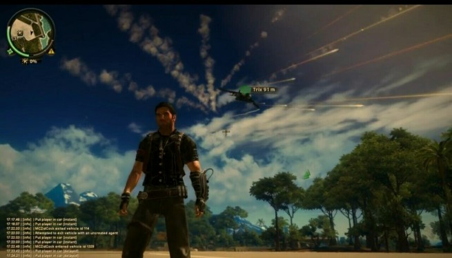 Multiplayer in Just Cause 2 on PC