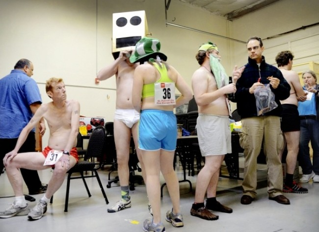 Hacker Dojo Underwear Run