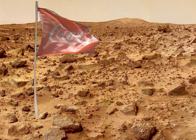 Coca-cola on Mars