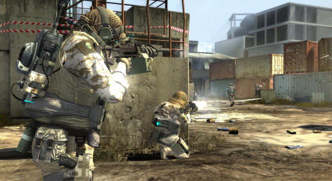 Ubisoft's Ghost Recon Online in action.