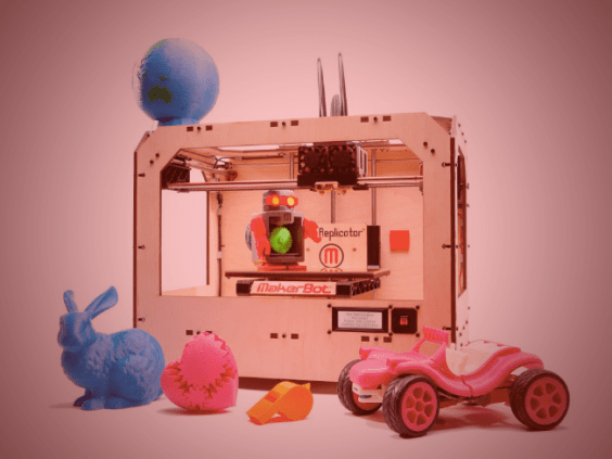 Photo of the Makerbot Replicator