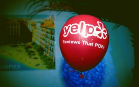 yelp balloon