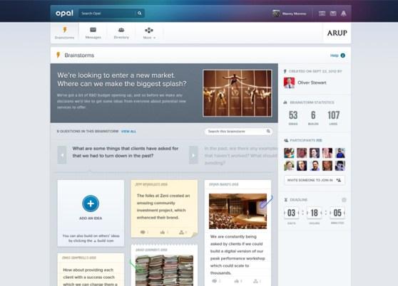 Opal Brainstorms screenshot