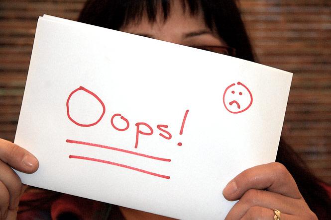 oops-failure