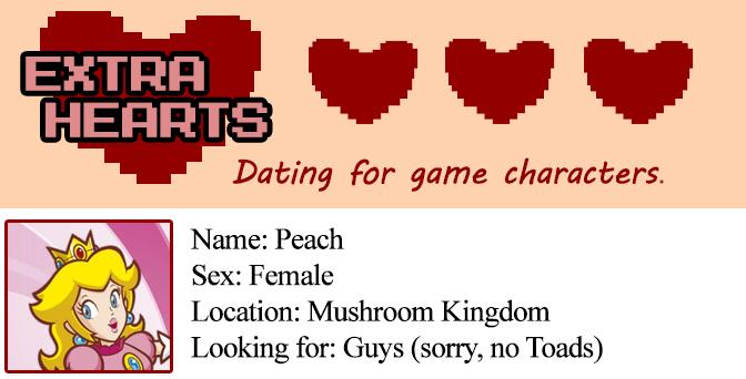 Extra Hearts: Peach