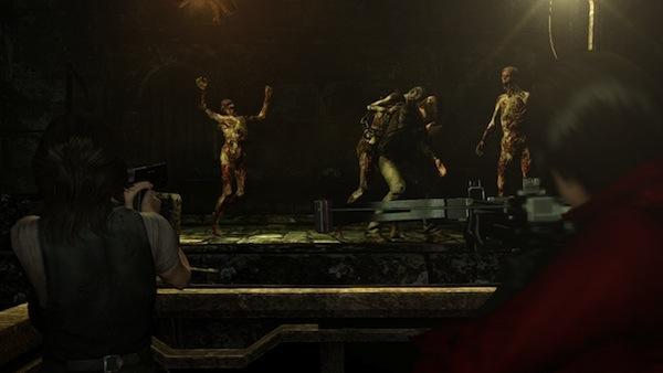 Resident Evil 6 Ada helping Helena