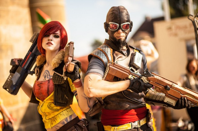 Borderlands cosplay - Lilith, Mordecai, bandit