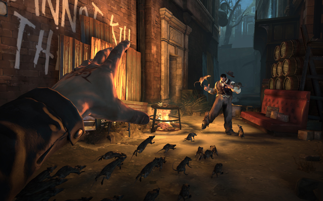 Dishonored Rat Swarm