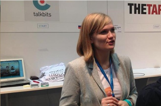 Talkbits founder Olga Steidl