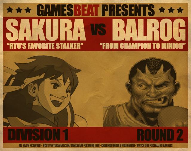 Sakura vs. Balrog
