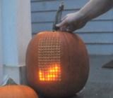 Tetris Pumpkin