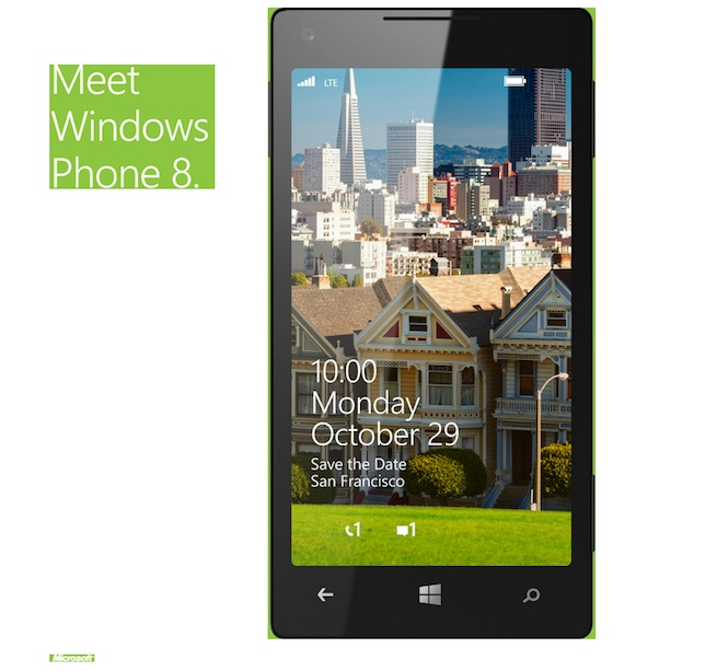 Windows Phone 8 invite