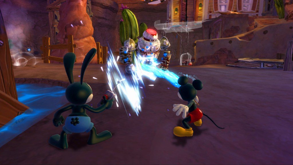 Epic Mickey 2 - Disney Gulch Battle