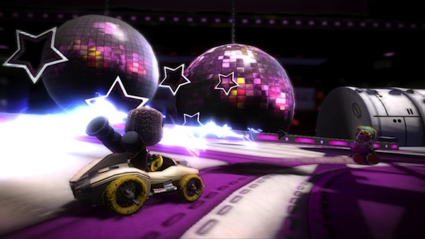 LittleBigPlanet Karting: Space Bass