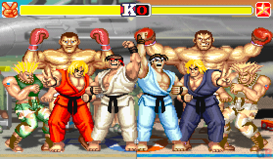 Street Fighter II differences