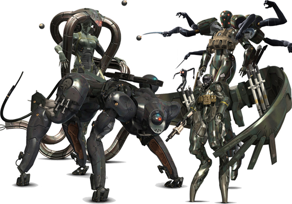 MGS4's Beauty and the Beast Unit