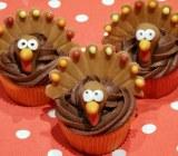 turkey cupcakes