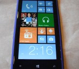 HTC Windows Phone 8X, running Windows Phone 8.