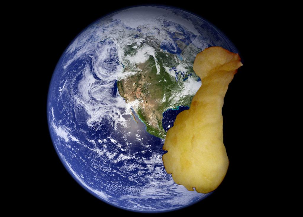apple-earth