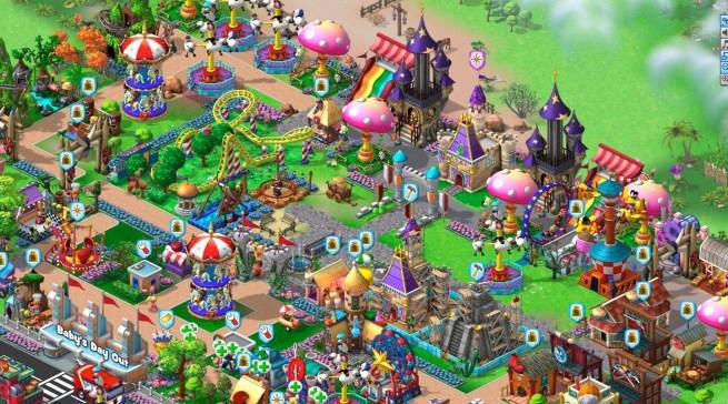 Full theme park