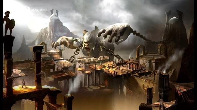 God of War: Ascension -- Desert of Lost Souls