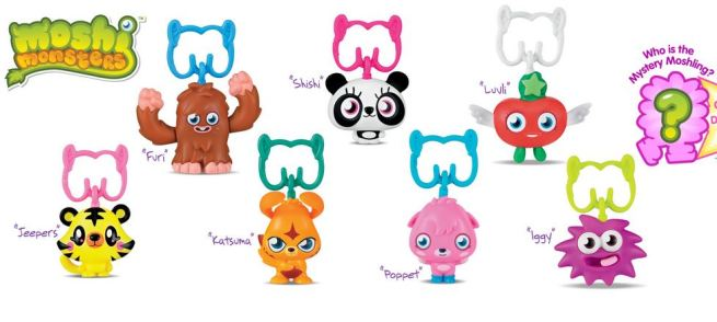 McDonald's Happy Meal Moshi Monsters