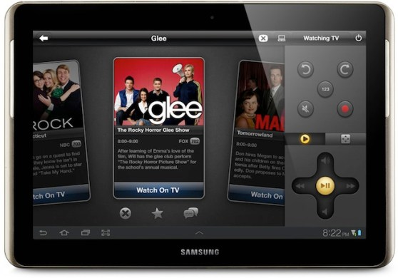 Peel Samsung Galaxy Tab