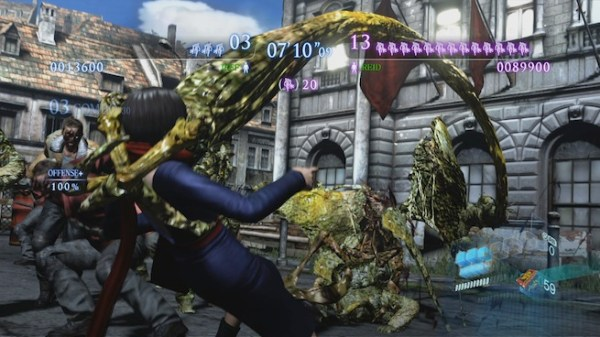 Resident Evil 6 Onslaught mode 1