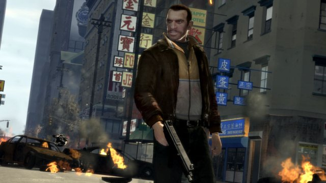 Niko from Grand Theft Auto IV