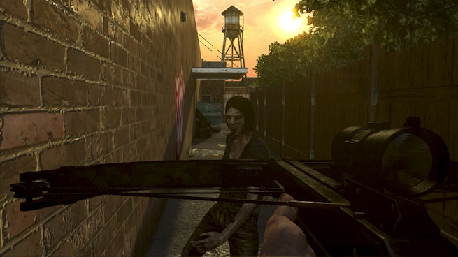 The Walking Dead: Survival Instinct crossbow