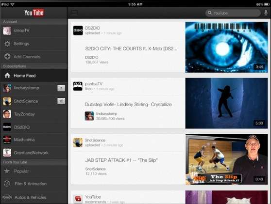 youtube-ipad-app