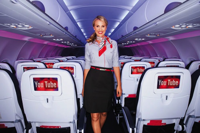 YouTube Virgin America