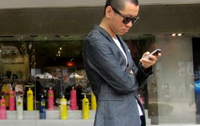 china apple smartphone user