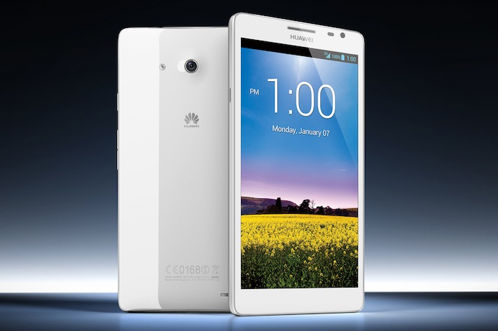 Huawei Ascend Mate is a 6.1-inch smartphone