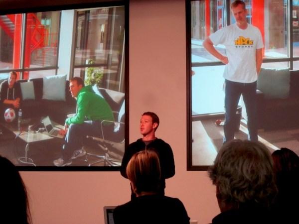 Mark Zuckerberg Facebook Graph Search