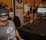 You won't throw up with this game-focused virtual reality headset. It is truly immersive.