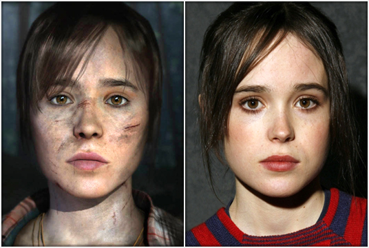 The young Canadian actress was handpicked by director David Cage to star in Quantic Dream's upcoming supernatural thriller.