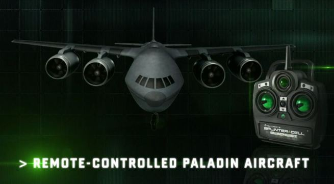 Paladin aircraft Splinter Cell