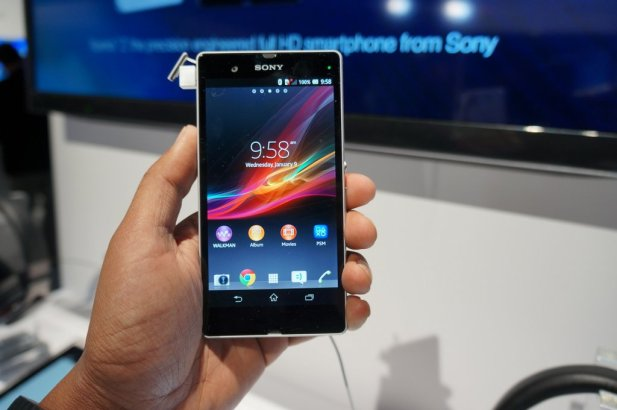 Sony Xperia Z hands-on at CES 2013