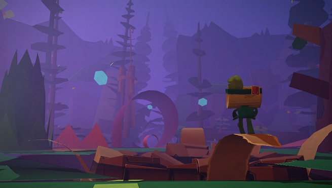 Tearaway - Sogport level