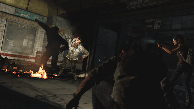 The Last of Us -- infected lunge