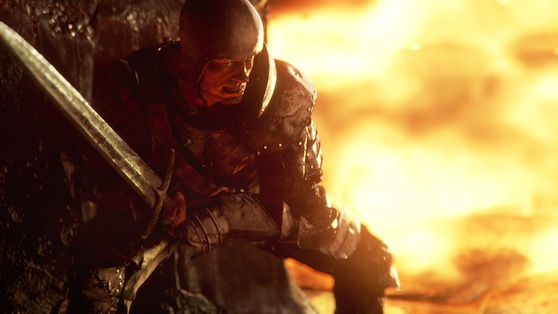 The real Deep Down doesn't quite look like it did during its E3 reveal.