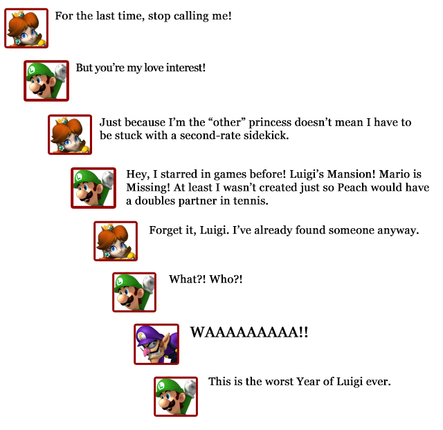 Extra Hearts: Luigi -- Daisy comments